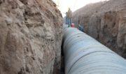 آب به روستاهای غیزانیه رسید و حجم انتقال آب ۲.۵ برابر شد
